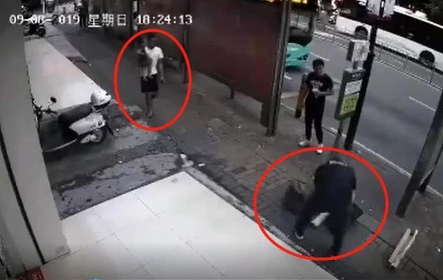 深圳一男子追砍并划伤一对父子,警方:孩子碰了其包裹起纠纷